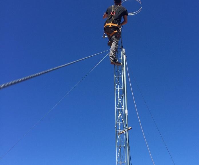 Montando la antena 2