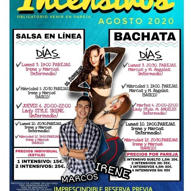 Intensivos Salsa y Bachata Agosto 2020 en Madrid: Clases de Baile Online de Báilalo Madrid