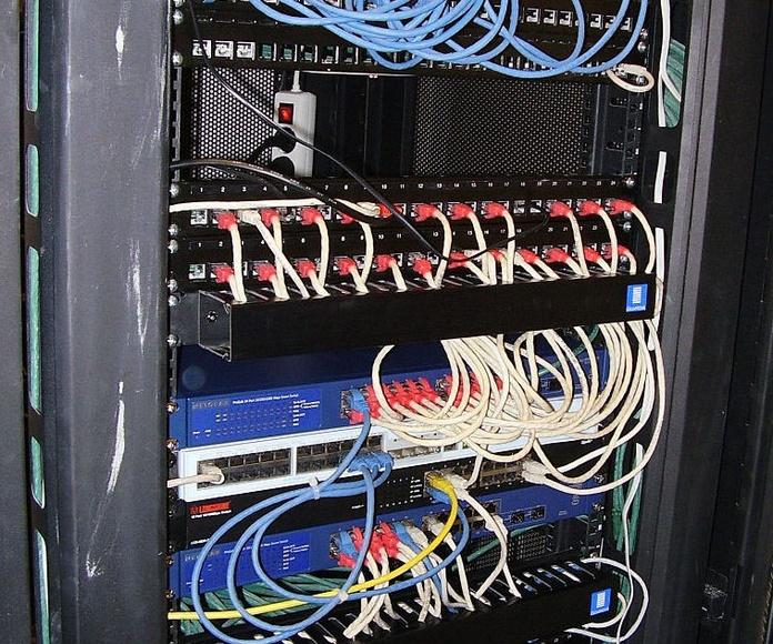 Armarios de telecomunicaciones