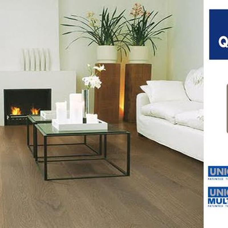 Quick Step parquet madera Compact: Productos y Servicios  de Parquets Cruzgal