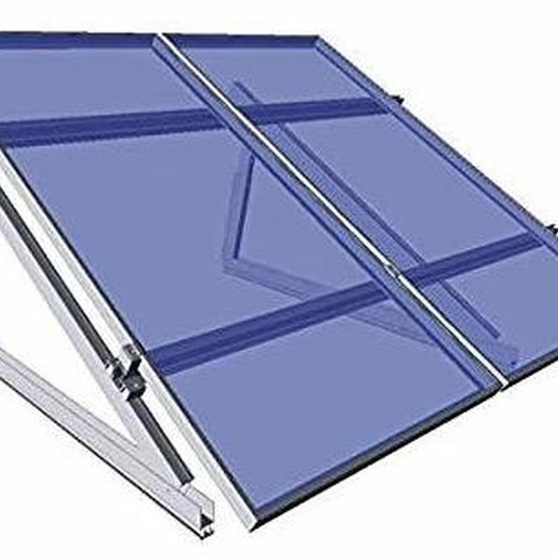 estructura placa solar en granada