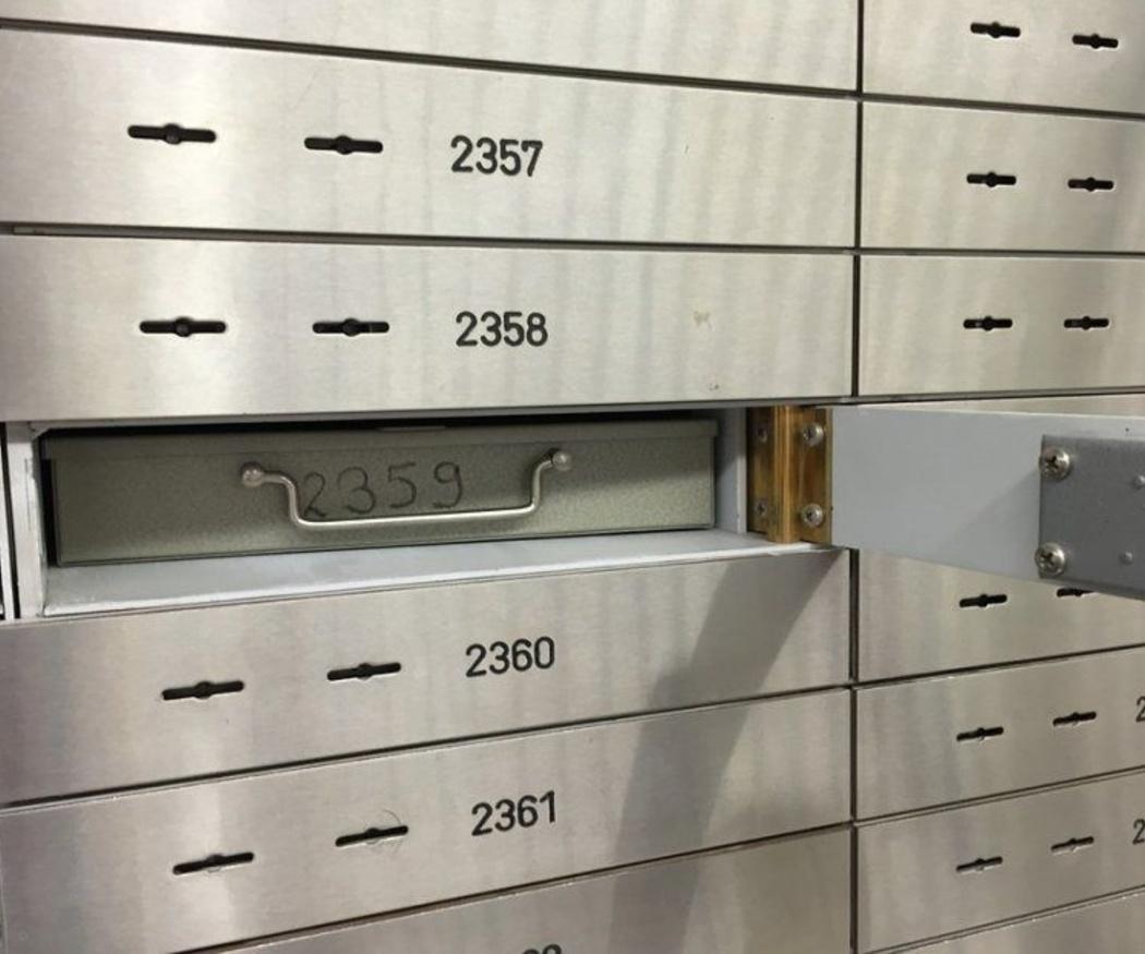 Normativa sobre las cajas fuertes de los bancos