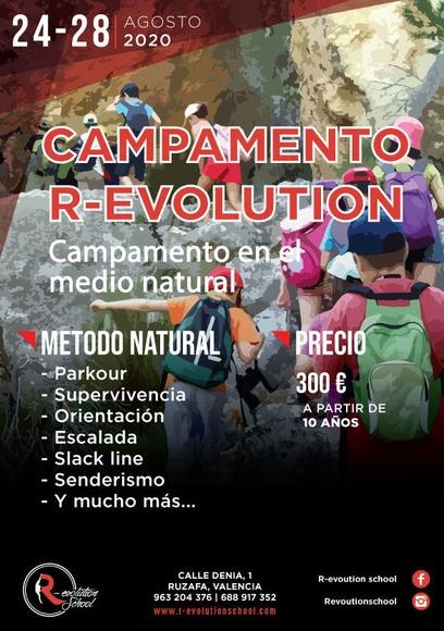 Campamento R-evolution School:  de R-evolution School