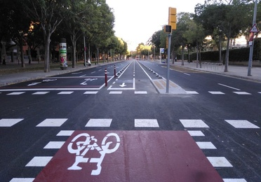 Proyecto constructivo lote 2 carriles bici en Barcelona