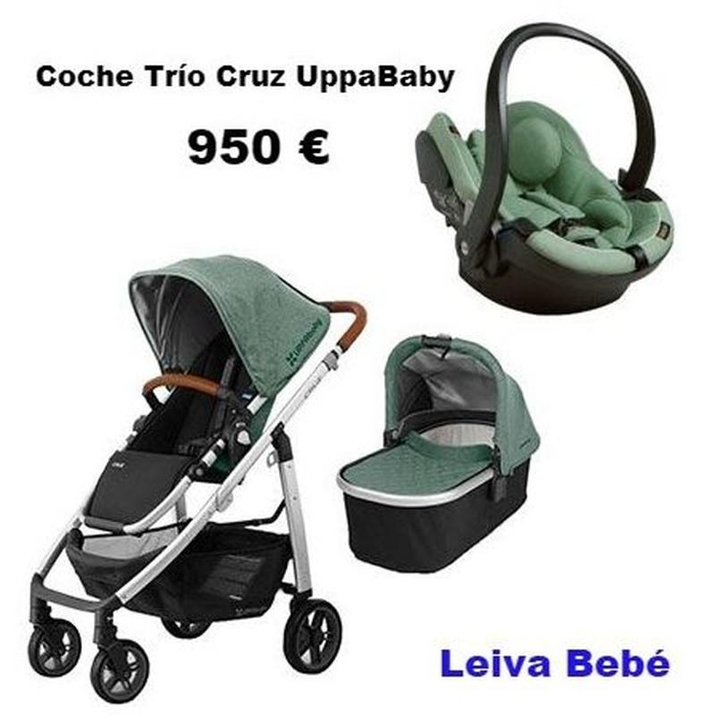 COCHE TRÍO CRUZ: Catálogo de Leiva Bebé
