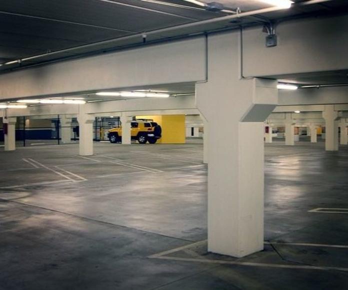 Limpieza parkings y naves: Servicios de Euroneteges I Logística