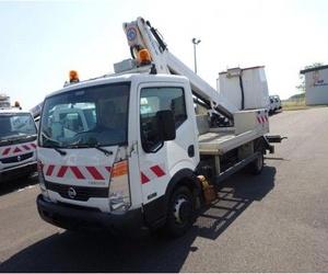 Ocasión: Camión Nissan Cabstar con cesta de 18 metros