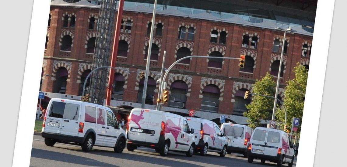 Mensajería urgente en Poblenou, Barcelona con recados enviados a su destino en un máximo de 20 minutos