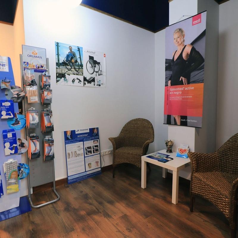 Colchones y cojines antiescaras: Servicios de Ortopedia Indar