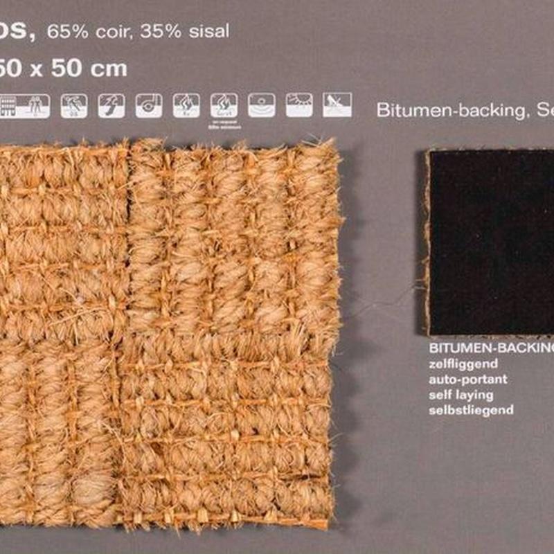 Sisal y coco: Productos de Alfombras Naturales A Medida