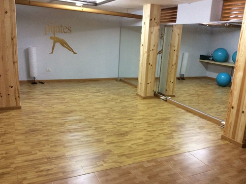 Sala de pilates!