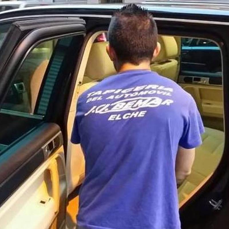 limpieza general del automóvil en Elche