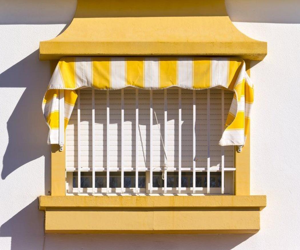 Las rejas de seguridad para las ventanas