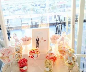Mesa de chuches para bodas