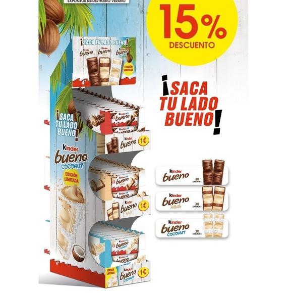 EXPOSITOR KINDER BUENO (15% DESCUENTO): Productos de Sarigabo, S. L.