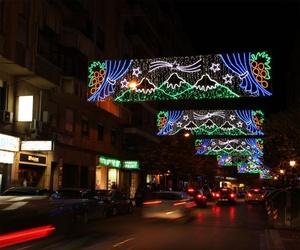 Iluminación para Navidad en Lugo