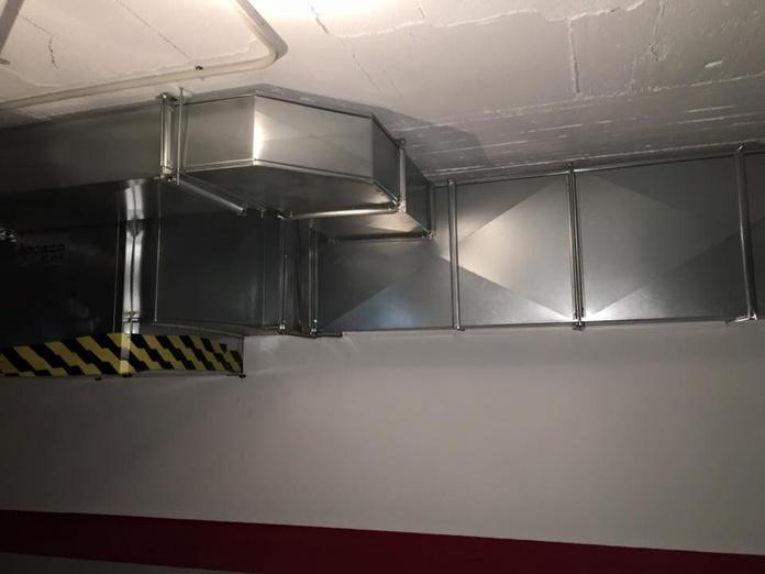 Conductos de extracción y aportación de aire.: Servicios de MSG Conductos y Climatización