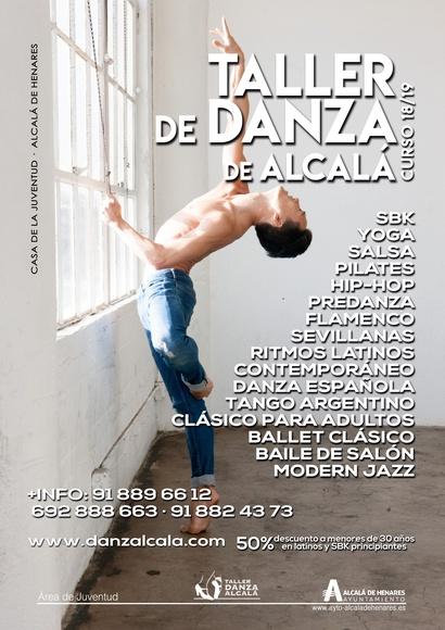 Curso 18/19: Actividades y horarios   de Taller de Danza de Alcalá