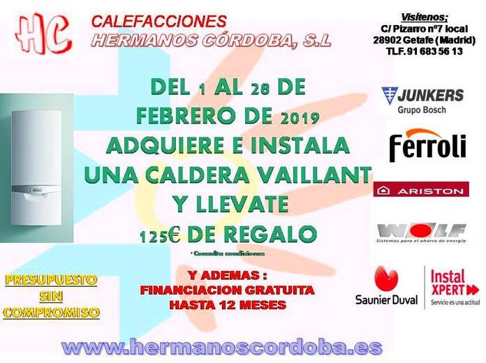 Ofertas y Promociones.: SERVICIOS de Calefacciones Hermanos Córdoba, S. L.