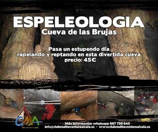 DIA 11 Mayo Espeleologia en Guadalajara.
