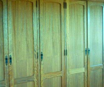Muebles : Trabajos de carpintería de Carpintería Segama