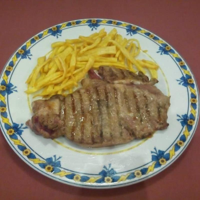 Segundos de carne: Especialidades de Restaurante Los Andaluces