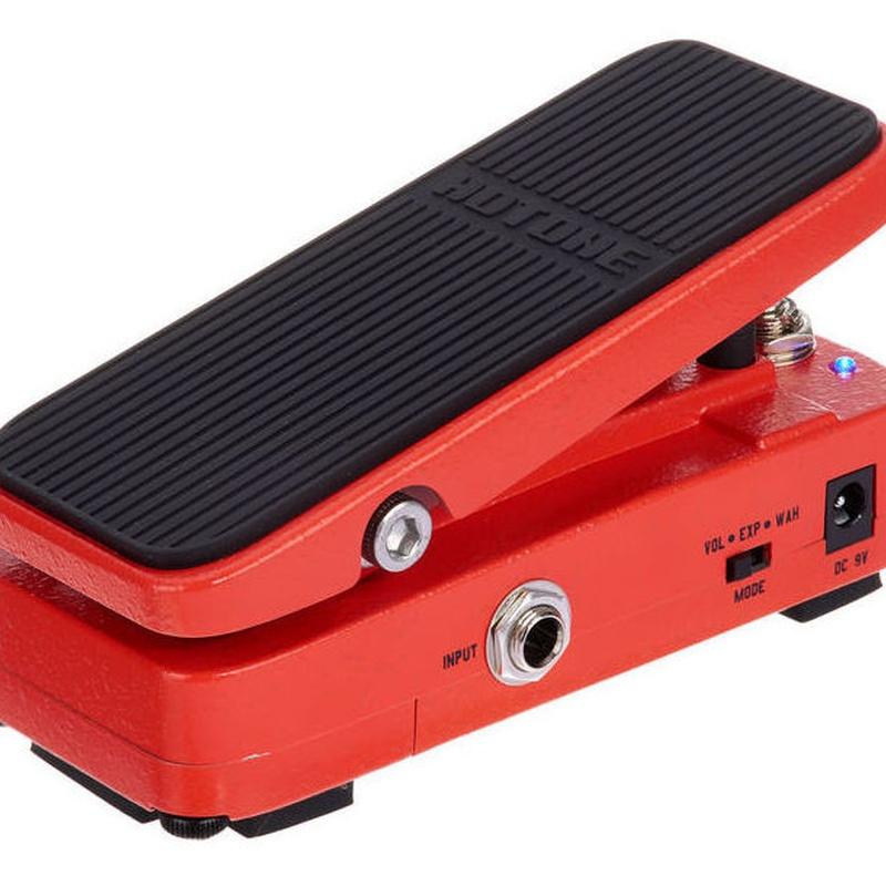 HoTone whawha, volumen, expresión pedal