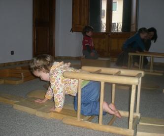 curs EXPERIMENTAR infants de 3 i 4 anys: Escuela de música i Expresión  de  Can Canturri