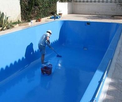Que pintura elegir para pintar una piscina?