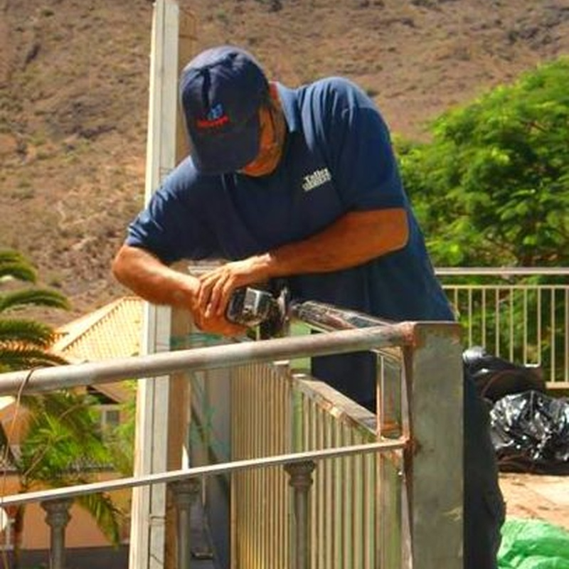 Pasamanos: Trabajos y servicios de Talleres Sarmiento, S.L
