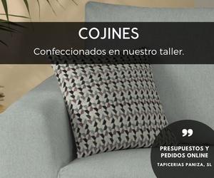 CONFECCIÓN COJINES A MEDIDA