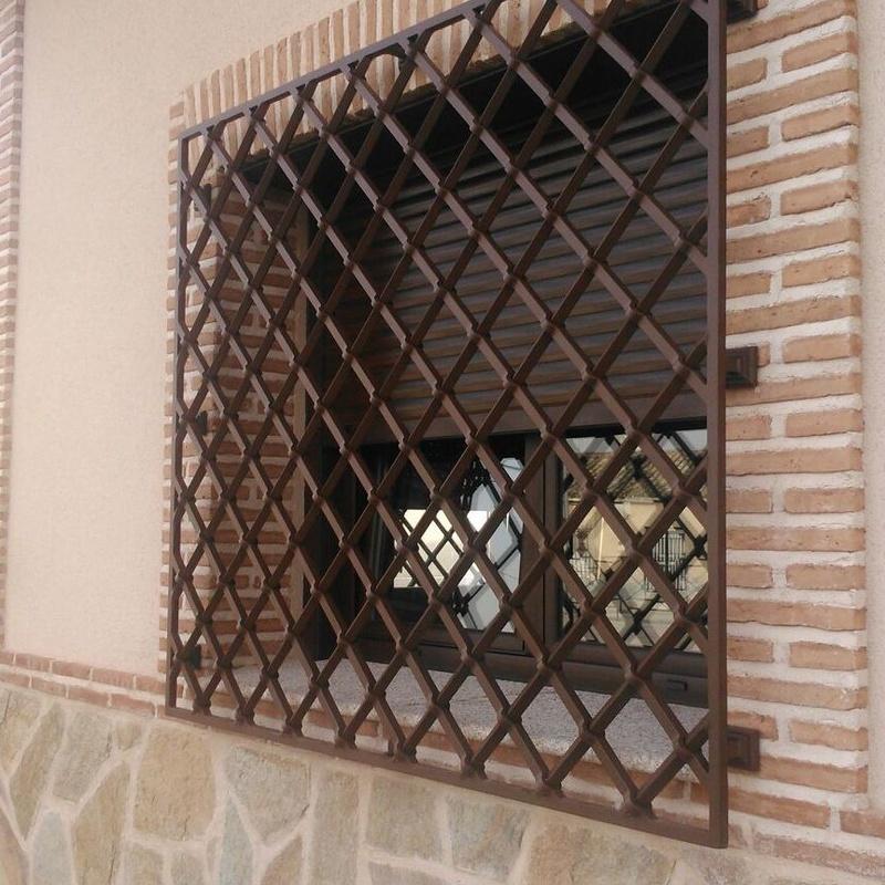 Rejas : Servicios y Productos de Cerrajería Avelino Izquierdo, S.L.