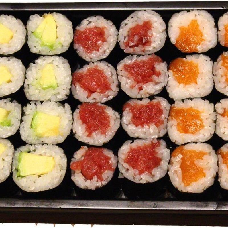 Maki variado 1 (24p) 12.50€: Carta de Tairyo Restaurant Japanese
