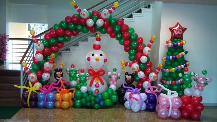 Decoración con globos: Servicios de Bernal Espectáculos