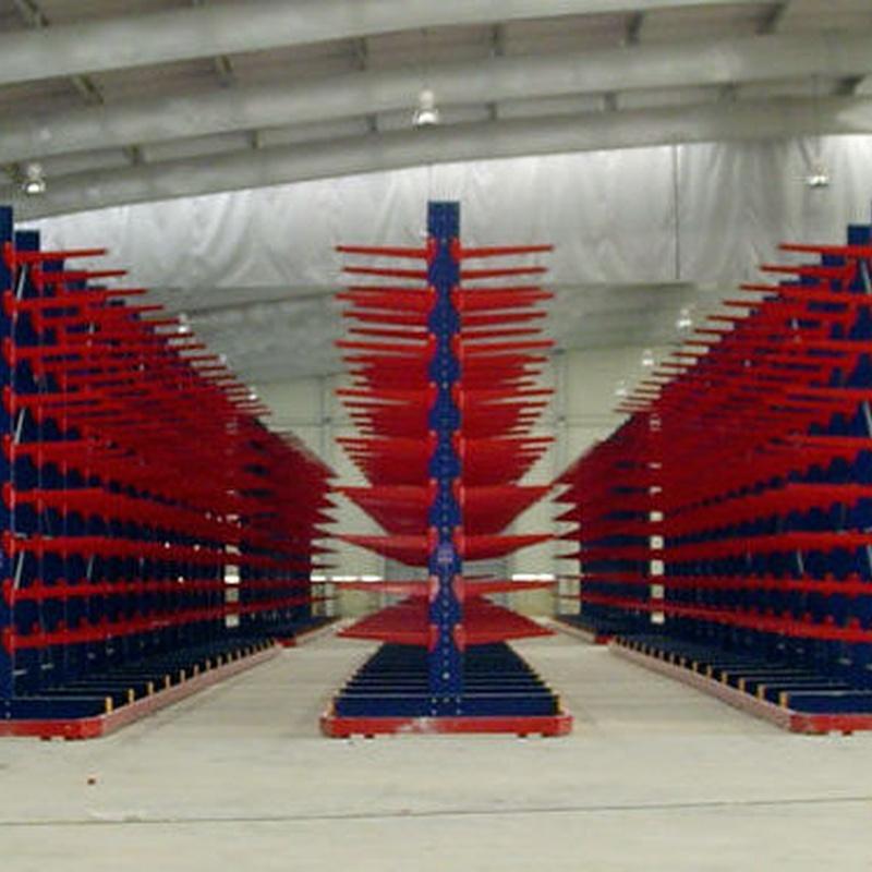 Estanterias Metalicas Rack cantilever