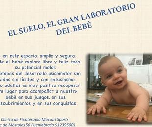 El suelo, el gran laboratorio del bebé