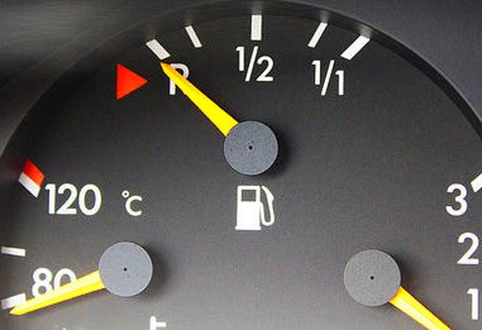 Reserva de combustible ¿Perjudicial?