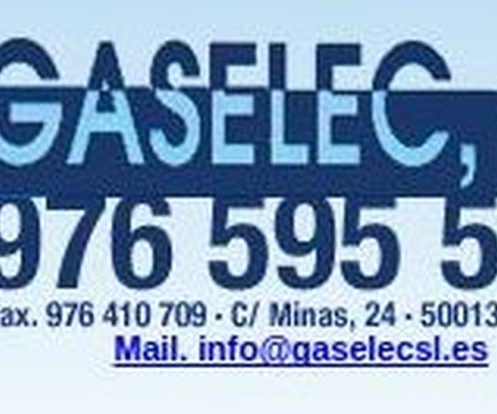 Instaladores de Gas: Servicios de Gaselec, S.L.