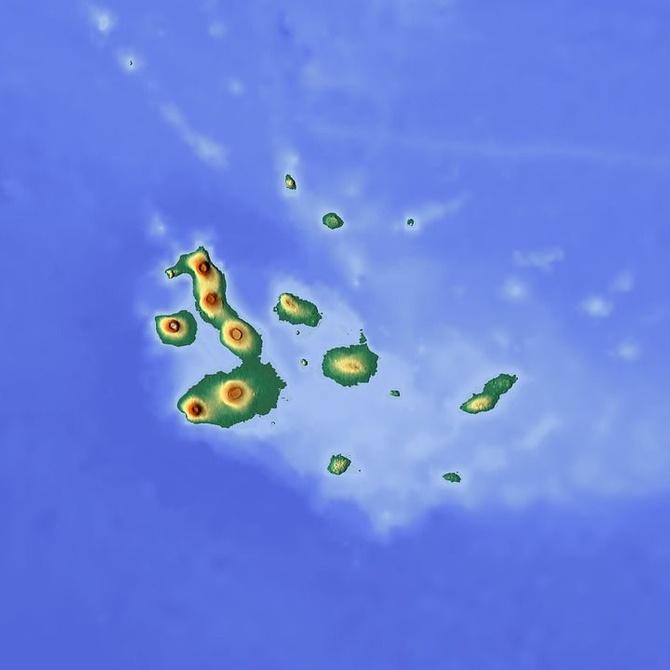 La topografía en el océano