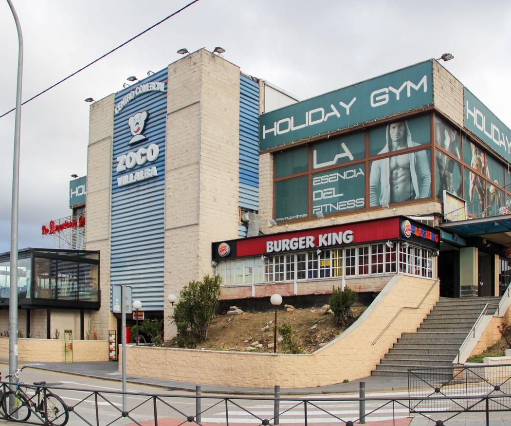Centro Comercial Zoco en Villalba