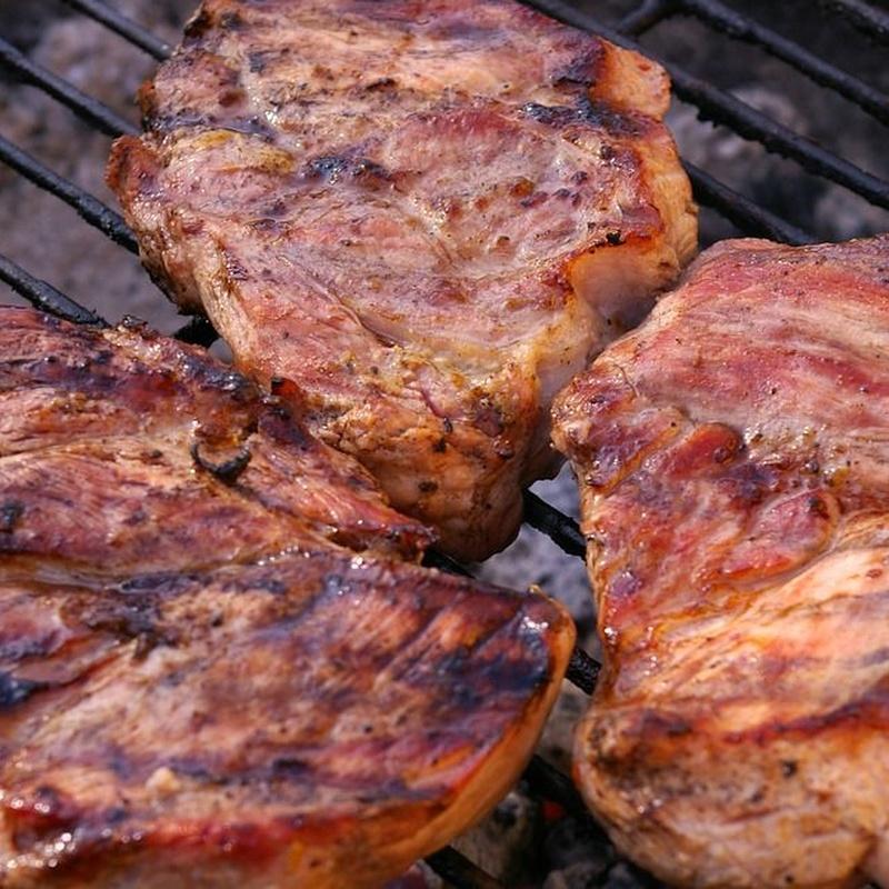 Carnes a la brasa: Especialidades de Casa Juan