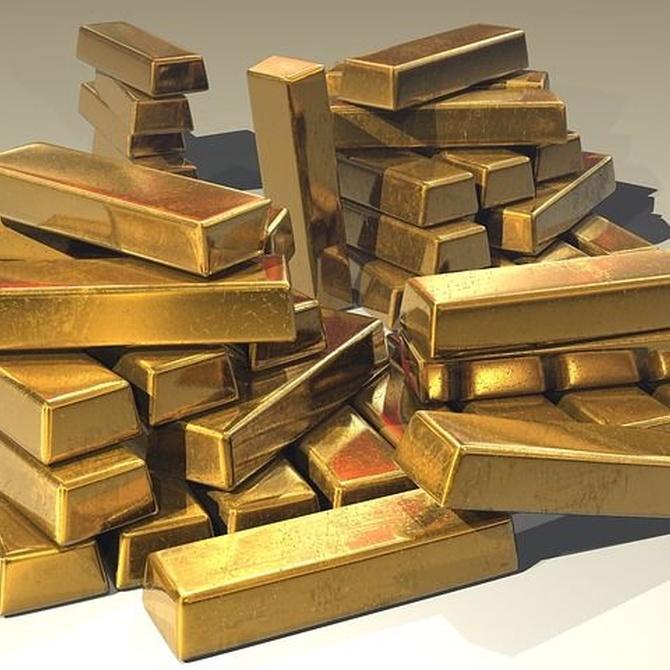 El curioso origen del oro