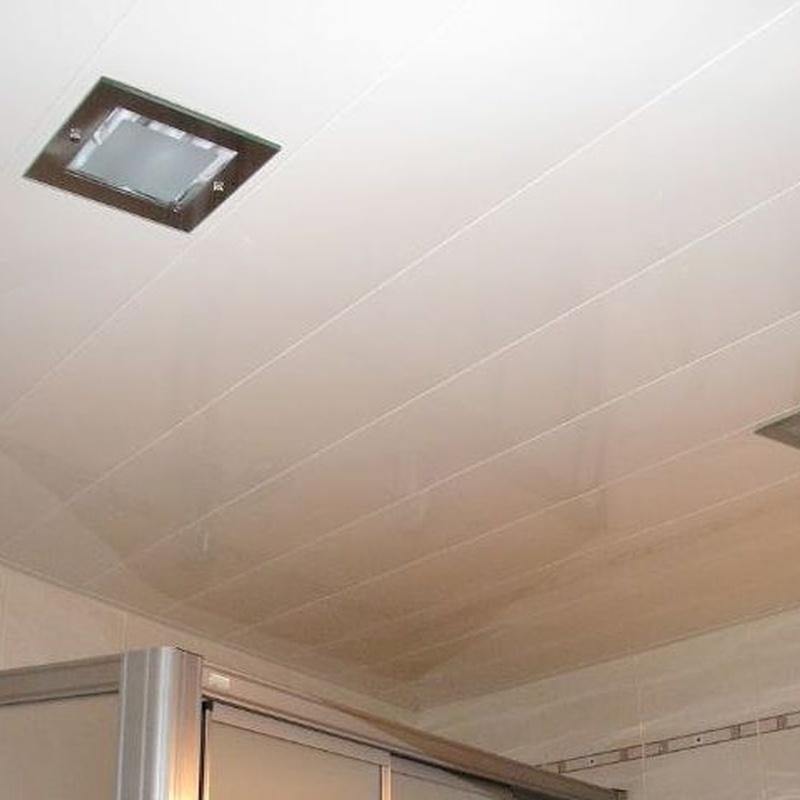 Falso techo aluminio para interiores: Servicios de Canaltom