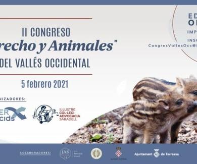 """Hemos asistido al II Congreso """"Derecho y animales"""" del Vallès Occidental. Seguimos aprendiendo."""