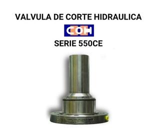 VALVULA DE CORTE HIDRAULICA COH SERIE 550CE