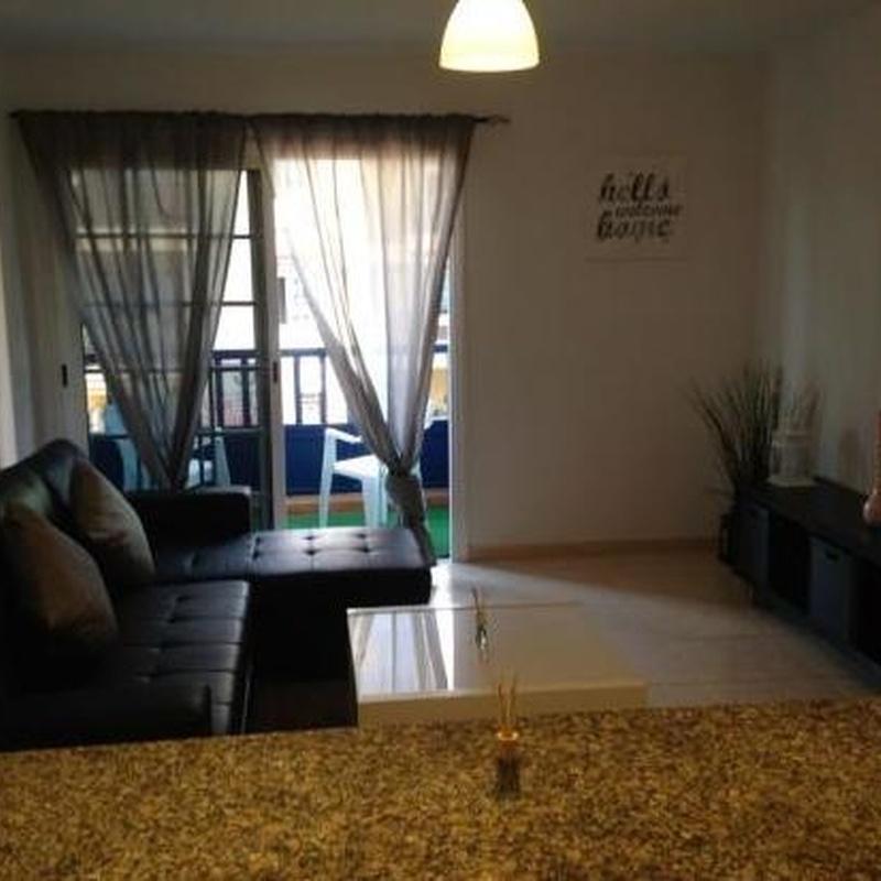 Apartamento 1 habitacion en Callao Salvaje, Adeje. 1 dormitorio: Alquiler y venta de Inmobiliaria Parque Galeón
