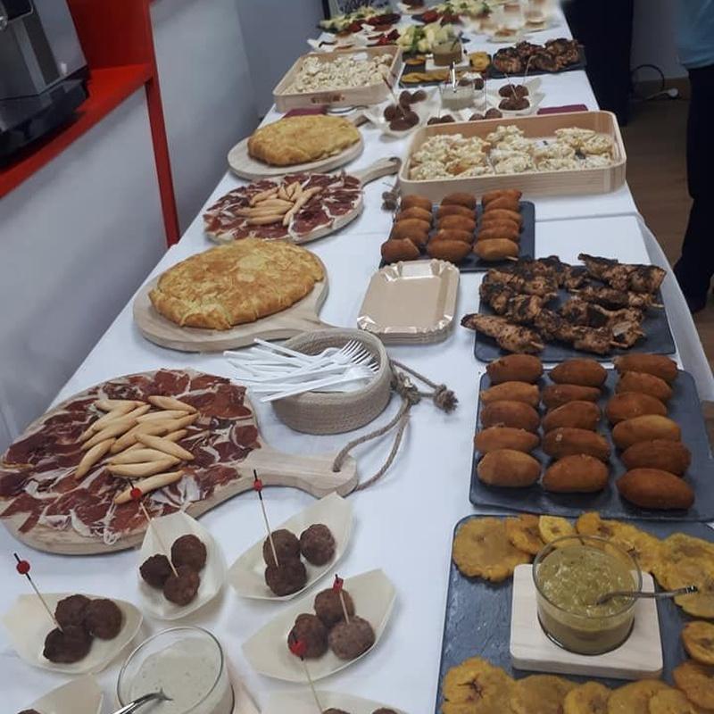 Catering: Ofrecemos de Cafetería la Bernarda
