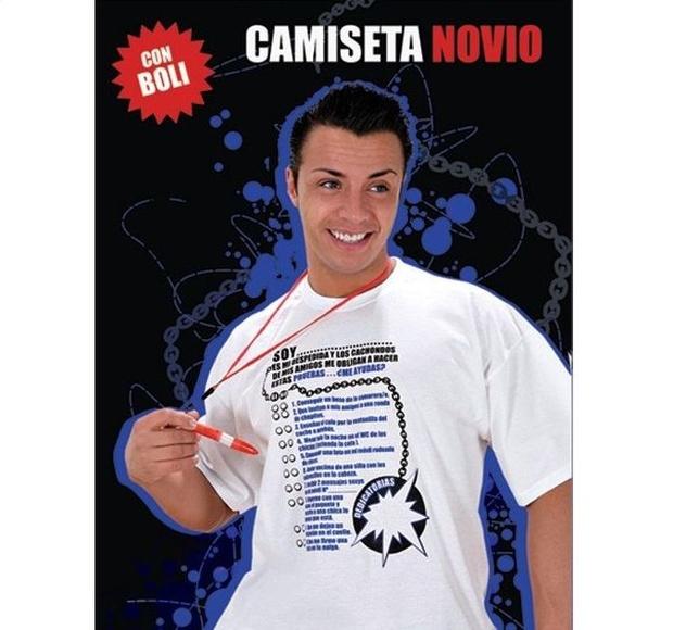 CAMISETA NOVIO *OFERTA*:  de SEXMIL 1