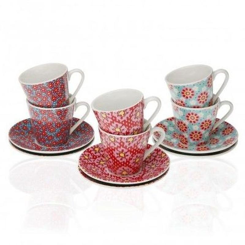 Set 6 tazas Rozanne