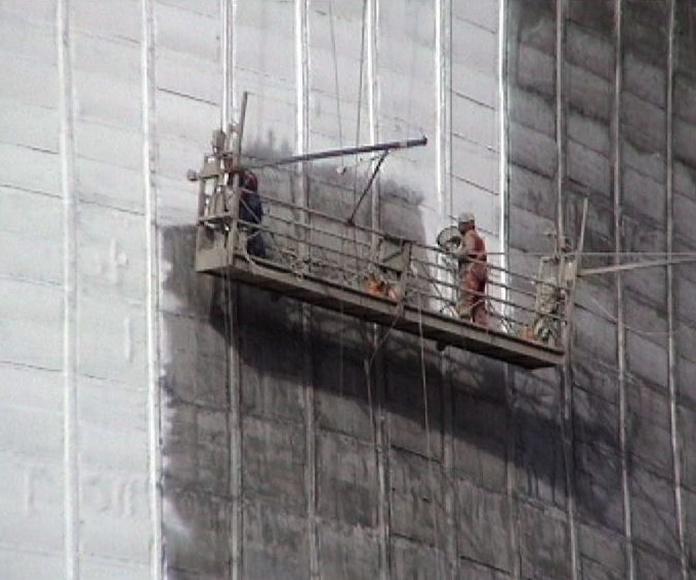 Repair of cooling towers: Services de Trabajos Especiales ZUT